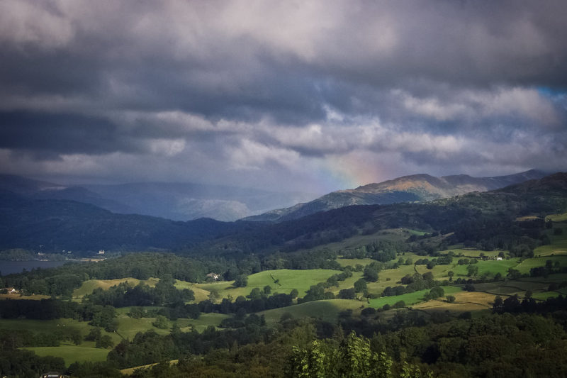 Rainclouds Over the Lake District