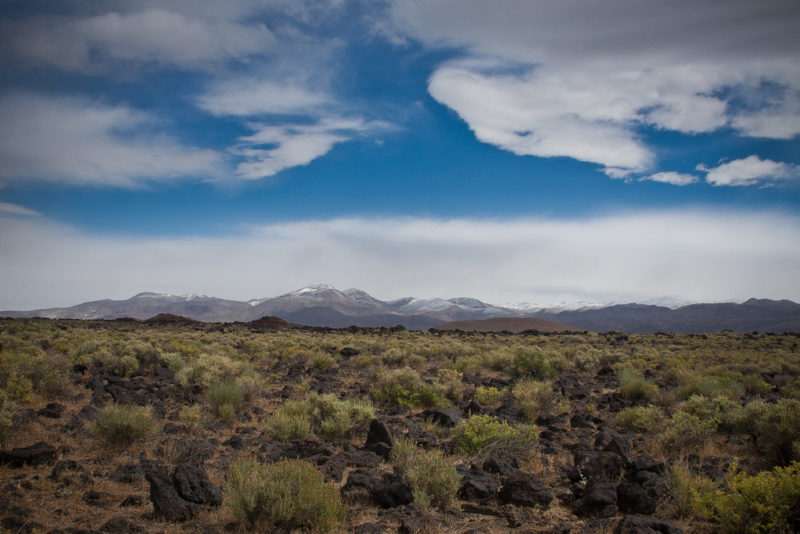 Snow Dusted Inyos, Owens Valley