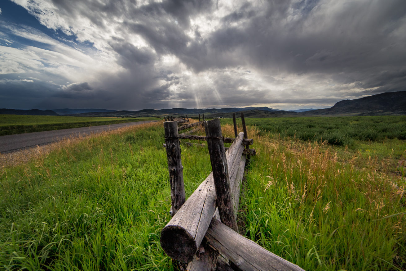 Storm Clearing at the Fence Line