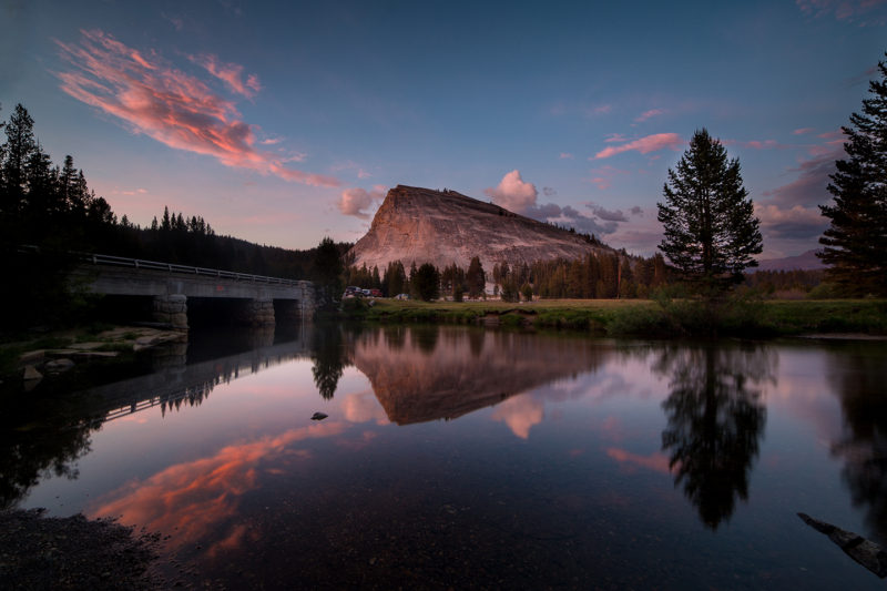Lembert Dome Reflected on the Tuolumne River