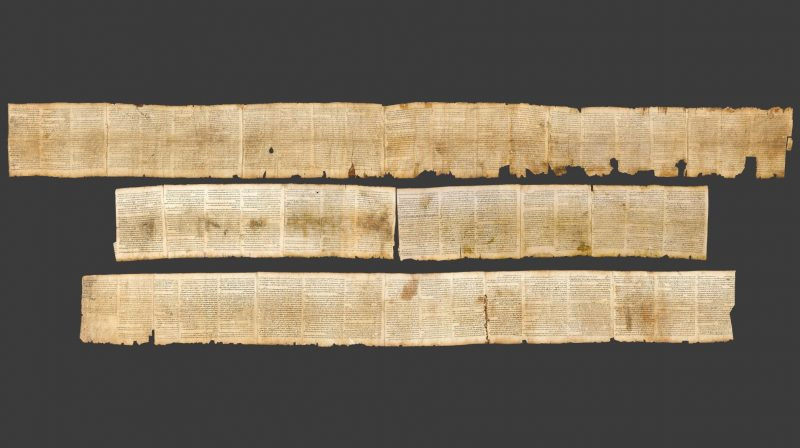 Picture of the Dead Sea Scrolls from How We Got the Bible