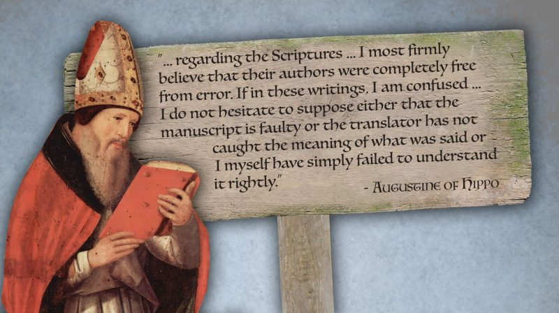 Quote from Augustine of Hippo in How We Got the Bible