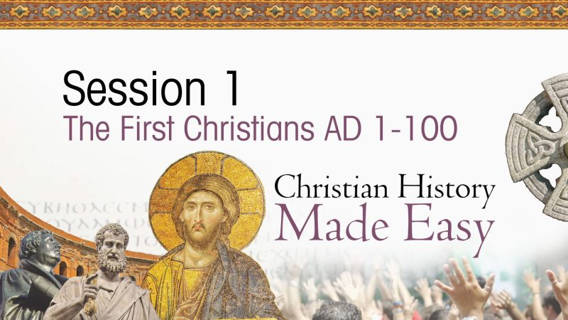 Christian History Made Easy title screen
