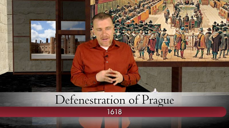 Defenestration of Prague in Christian History Made Easy