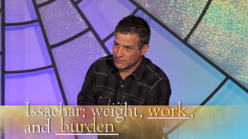 Pastor Shawn Barnard sharing key point in Tabernacle study