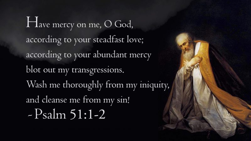 Psalm 51 graphic from Tabernacle video