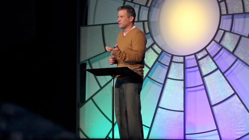 teaching moment with Pastor Shawn Barnard