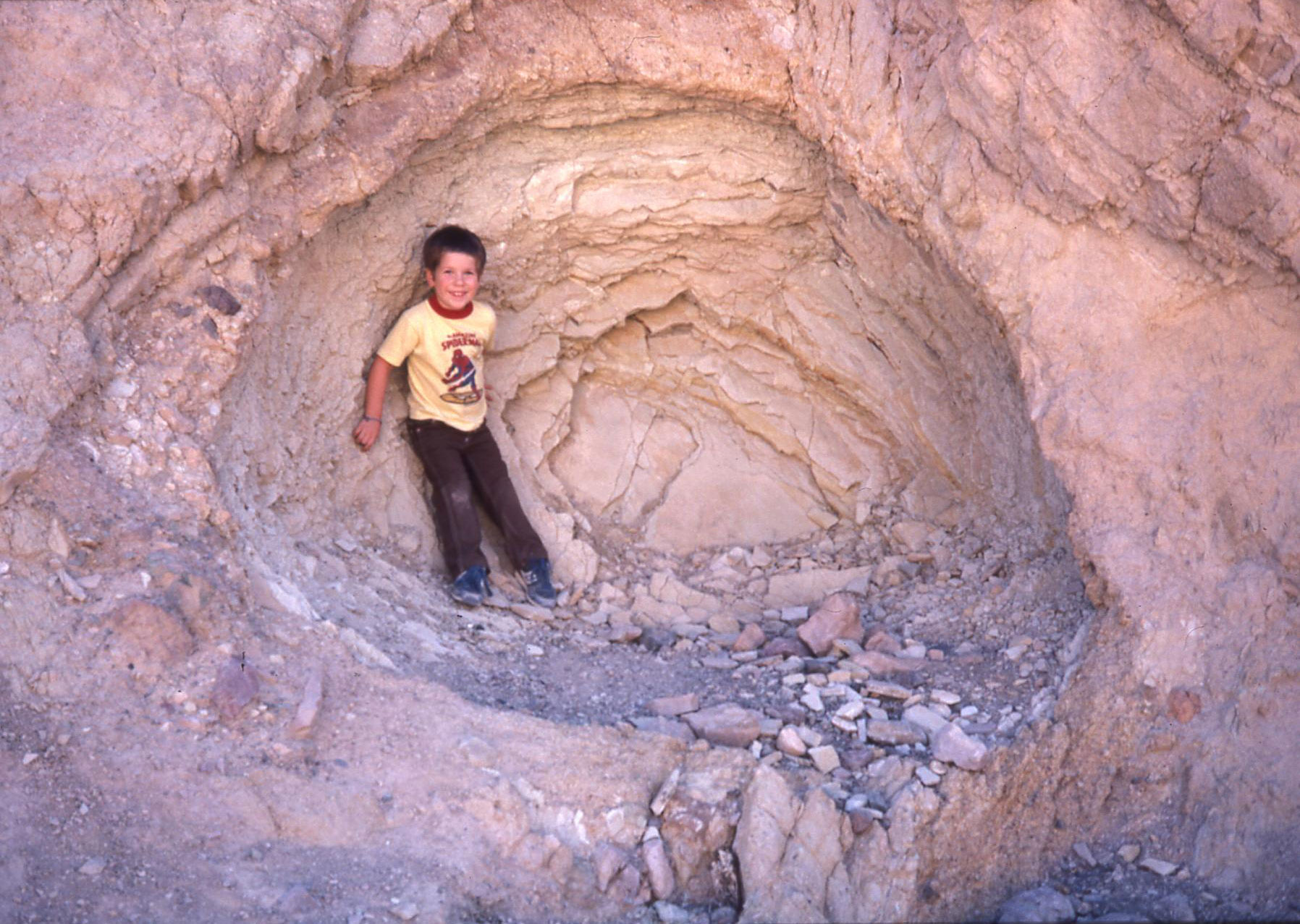 Caleb in Death Valley