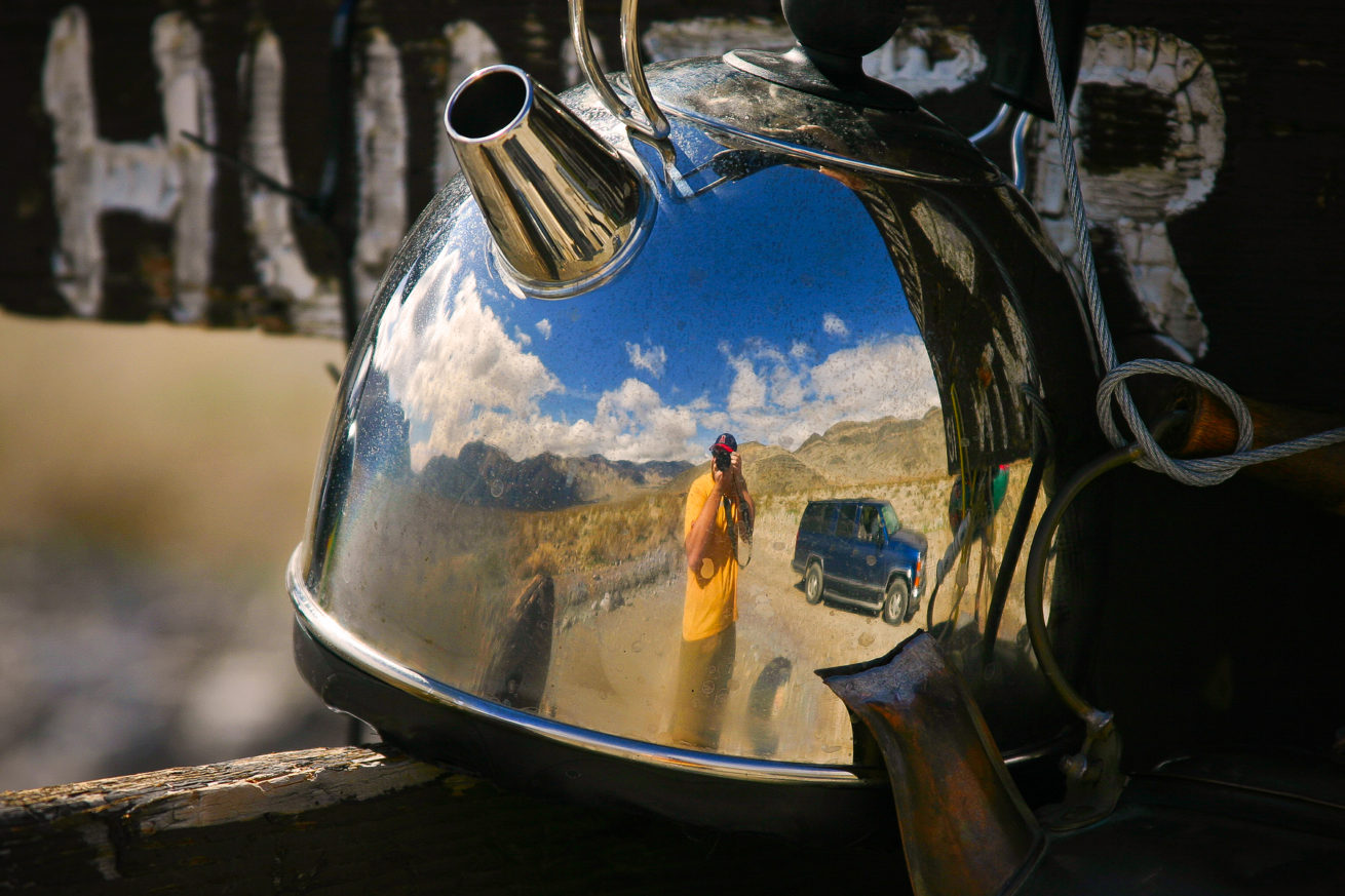 Teakettle Junction Self-portrait