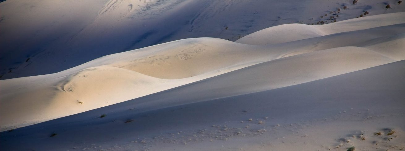 Eureka Dunes in Spotlight