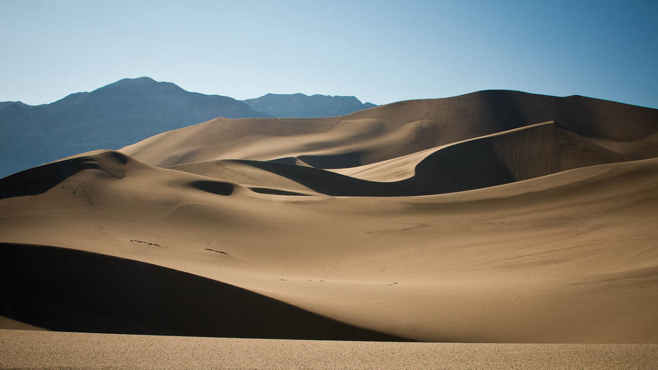 Eureka Dunes After Summer Storm