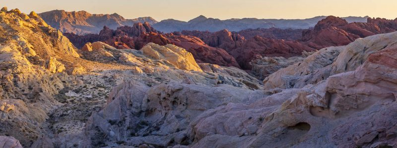 Last Light on Fire Canyon - Valley of Fire