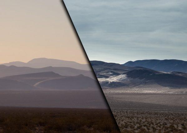 Two Desert Panoramics