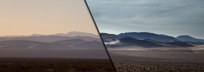 Two Desert Panoramics